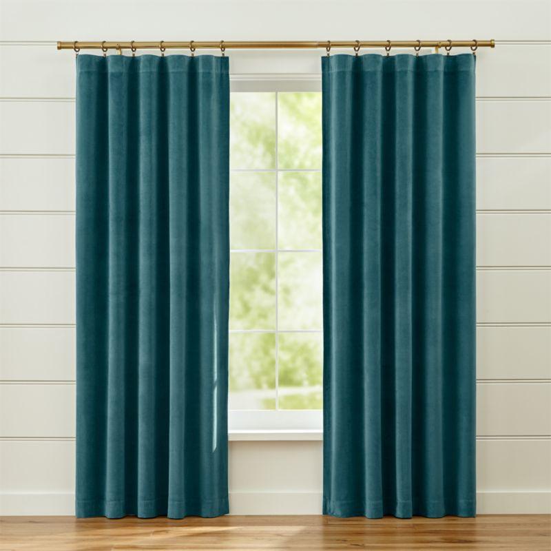 Blue Beige Curtains Curtain Menzilperde Net