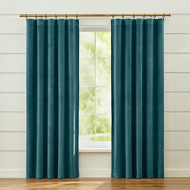 Windsor Sterling Blue Curtains