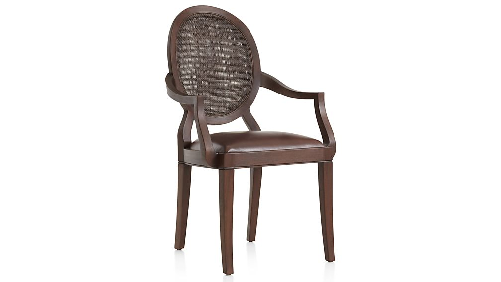 Winnetka Dark Mahogany Dining Arm Chair