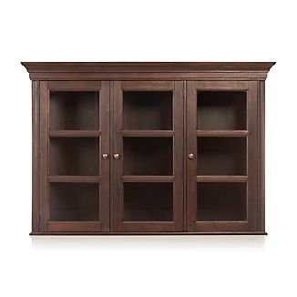 Winnetka Dark Mahogany Hutch Top