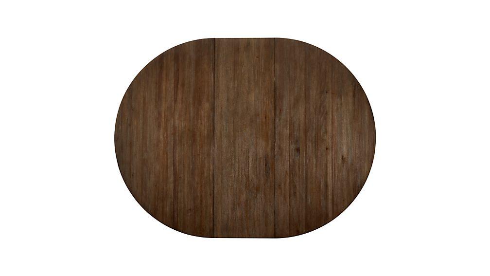 "Winnetka 60"" Round Light Mahogany Extendable Dining Table"