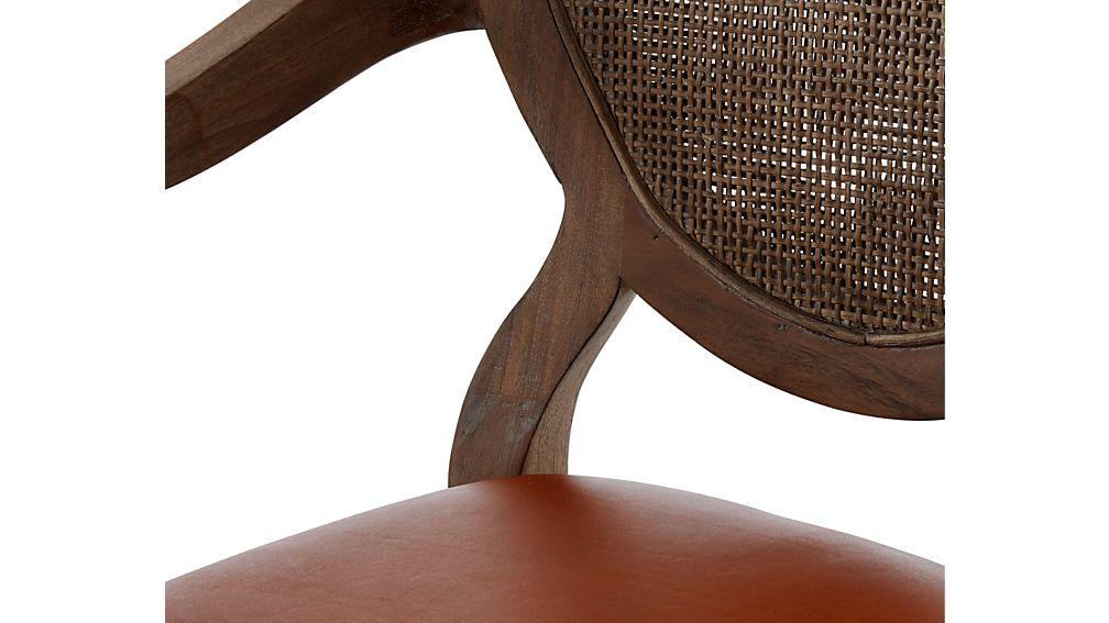 Winnetka Light Mahogany Dining Arm Chair