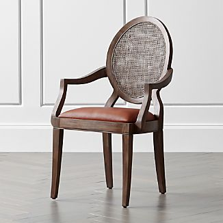 Winnetka Light Mahogany Dining Arm Chair