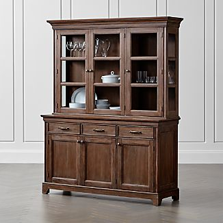 Exceptionnel Winnetka Light Mahogany Buffet With Hutch