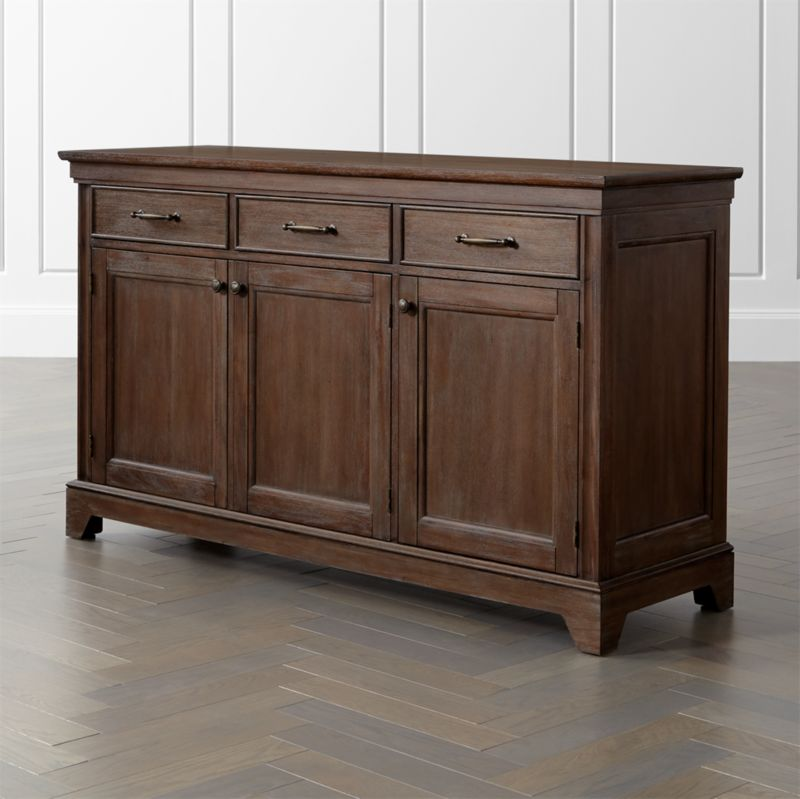 winnetka light mahogany buffet reviews crate and barrel. Black Bedroom Furniture Sets. Home Design Ideas