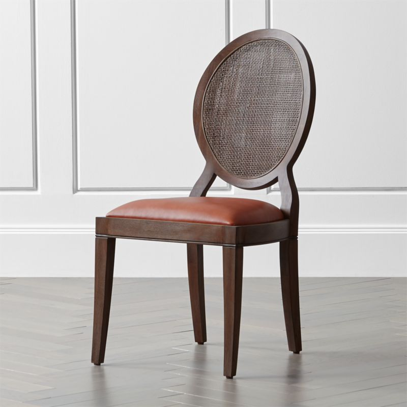 Crate And Barrel Dining Room Chairs: Winnetka Light Mahogany Dining Side Chair + Reviews