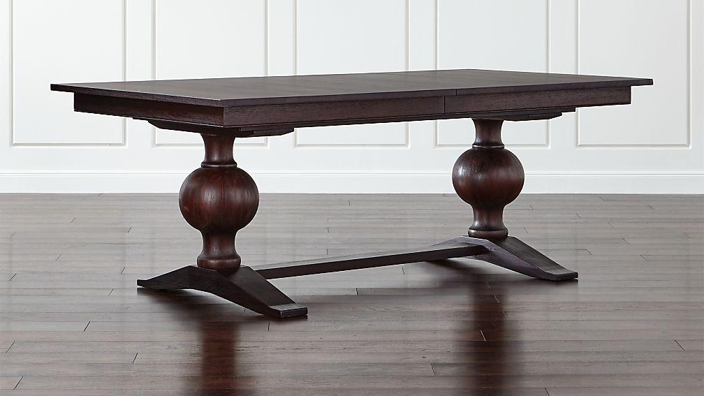 Winnetka Dark Mahogany Rectangular Extendable Dining Table