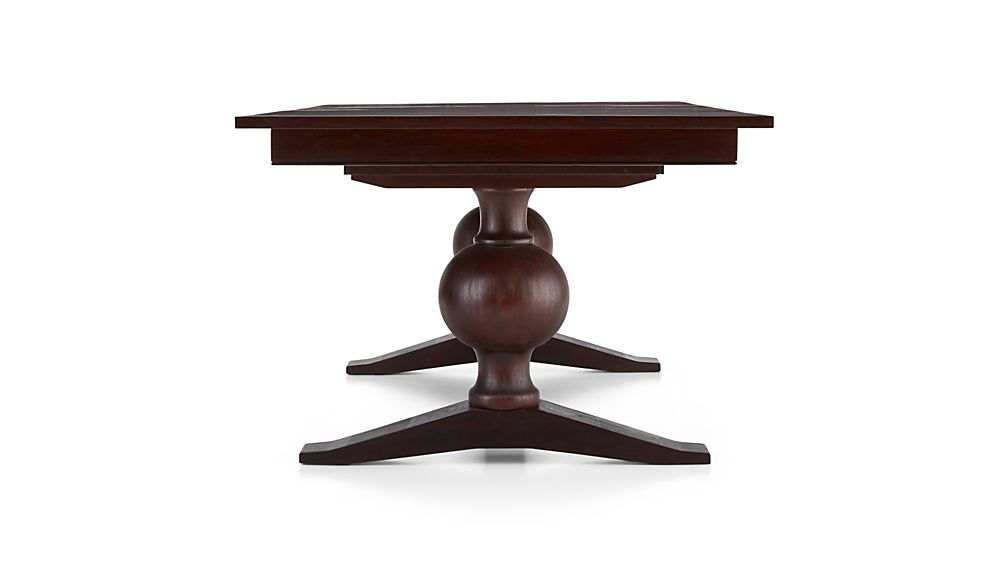 Winnetka Dark Mahogany Rectangular Extendable Dining Table
