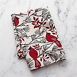 Winter Cardinal Dish Towel