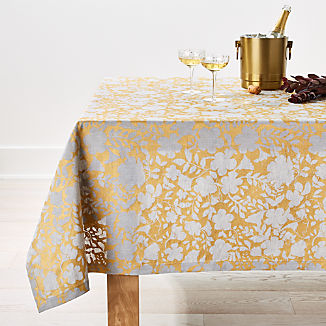 Winter Floral 60x90 Tablecloth