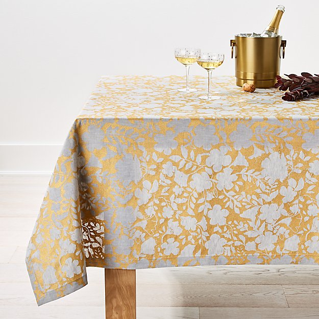 Winter Floral 60x90 Tablecloth - Image 1 of 1