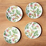 Winter Sprig Plates, Set of 4
