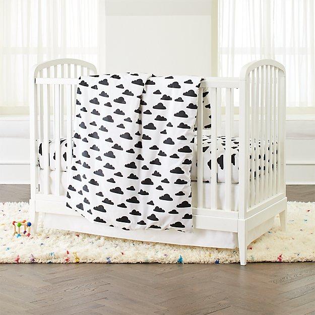 Cloud Nursery Bedding Thenurseries