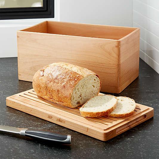 Carter Wood Bread Box