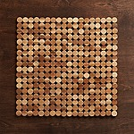 Wood Dot Placemat