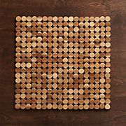 Wood Dot Placemat