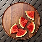 Wood Grain Melamine Platter