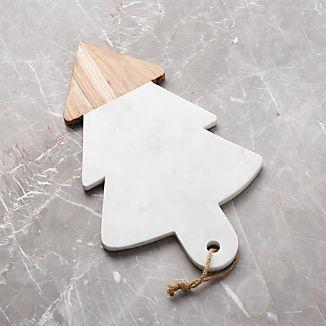 Wood Marble Tree Board