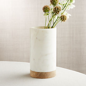 Crate and Barrel & Decorative Vases: Glass and Ceramic | Crate and Barrel