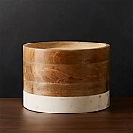 Wood and Marble Drink Dispenser Stand