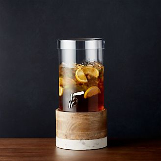 Sharper Image Wooden Barrel Whiskey Dispenser Christmas Holiday