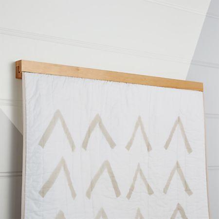 Wooden Quilt Hanger