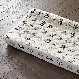 Roxy Marj Woodland Animal Changing Pad Cover