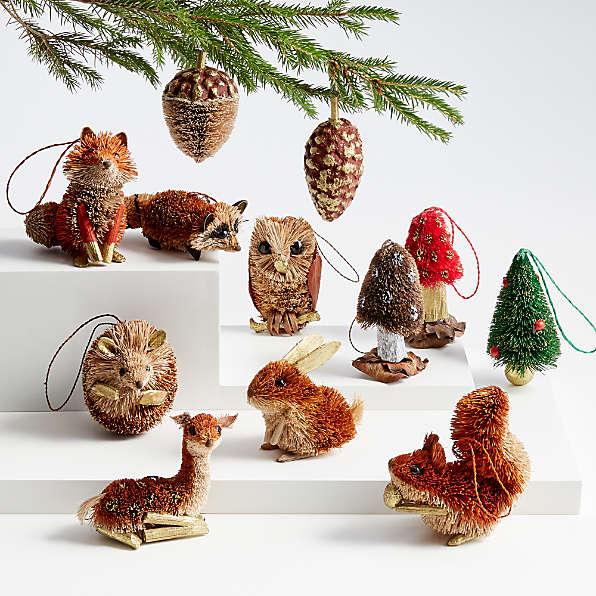 Ornaments 2020 Unique Christmas Decor Crate And Barrel