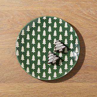 holiday and christmas plates - Christmas Plates