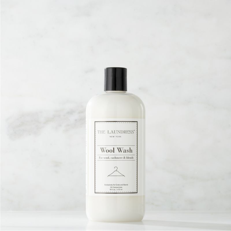 Make trips to the dry cleaner a thing of the past. Formulated exclusively for Clean Slate™, this ultra-gentle, eco-friendly wash by The Laundress® is subtly infused with the scent of lavender. Designed to effectively clean your most delicate fine wools, cashmere and mohair, this fabric-care detergent preserves the natural oils in the fibers to extend the life of your wardrobe. It also lends more fluff to fabrics unlike dry cleaning, which flattens and weakens fibers. The plant-based formula is 100% biodegradable, non-toxic and allergen-free with no artificial colors or dyes, making it a kind choice for both the environment and sensitive skin.<br /><br /><NEWTAG/>The Laundress® was dreamt up by two graduates from Cornell University's Fiber Science, Textile and Apparel Management and Design program. Frustrated with the financial and environmental cost of dry cleaning, the pair researched and developed eco-conscious formulas designed to properly care for every item in your closet.<br /><ul><li>Formulated exclusively for Clean Slate™ by The Laundress®</li><li>Cleans fine wools, cashmere and mohair, and wool blends</li><li>Plant-based wash is 100% biodegradable, non-toxic and allergen-free with no artificial colors or dyes</li><li>Subtly scented with lavender</li><li>Plastic container is BPA-free</li><li>Made in USA</li></ul>