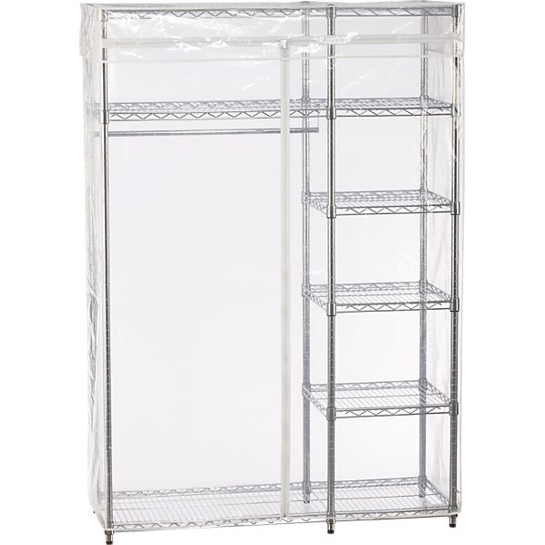 Work Closet with Clear Cover