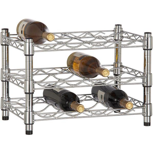 Work 12-Bottle Wine Rack