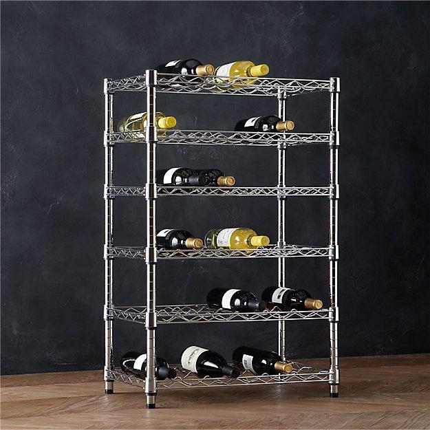 Work 36 Bottle Wine Rack Crate And Barrel