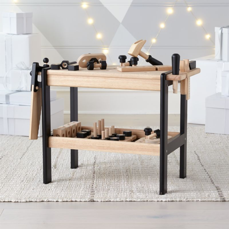 Wooden Toy Workbench Reviews Crate And Barrel