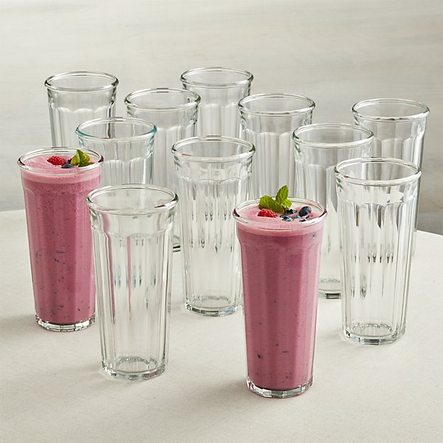 Set of 12 Tall Working Glasses 24 oz.