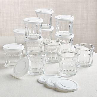 Working 10 oz. Glass with Lid, Set of 12