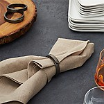 Wrap Black Napkin Ring