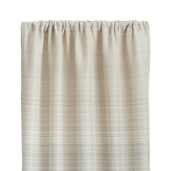 "Wren 50""x84"" Grey Curtain Panel"