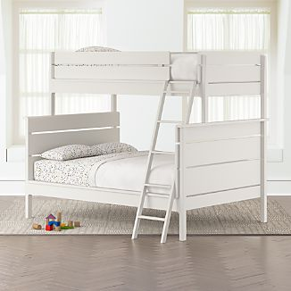 White Bunk Beds | Crate and Barrel