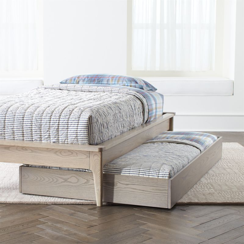 Wrightwood Trundle Bed Crate And Barrel