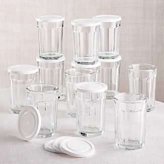 21 oz. Working Glass with Lid, Set of 12