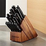 Wüsthof ® Gourmet 18-Piece Acacia Knife Block Set