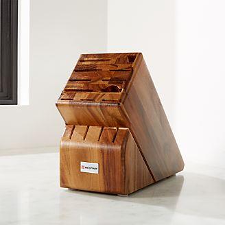 Merveilleux Wusthof ® 15 Slot Acacia Knife Block