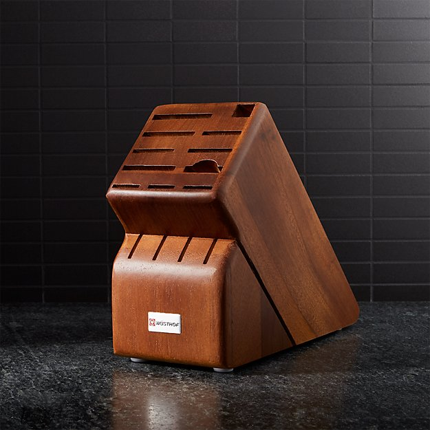 Wusthof ® 15-Slot Walnut Knife Block - Image 1 of 2