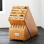 Wüsthof ® 17-Slot Bamboo Knife Block