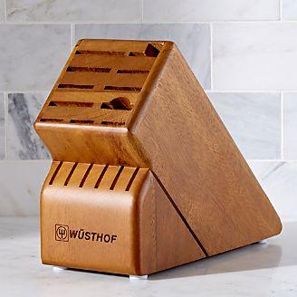wsthof 17slot walnut knife block - Knife Storage