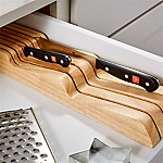 Wüsthof ® In Drawer 7 Slot Knife Block