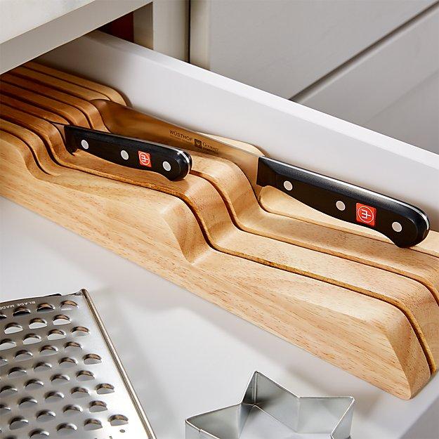 Wüsthof ® In Drawer 7 Slot Knife Block - Image 1 of 5