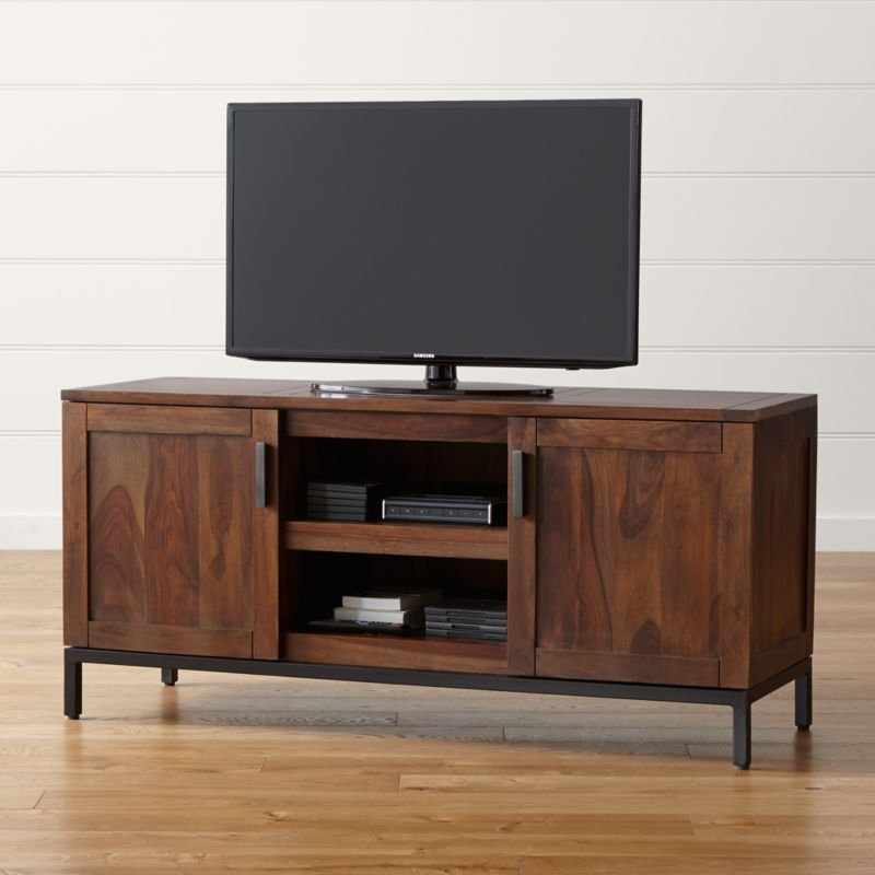 Wyatt Bourbon 60 Quot Media Console Crate And Barrel