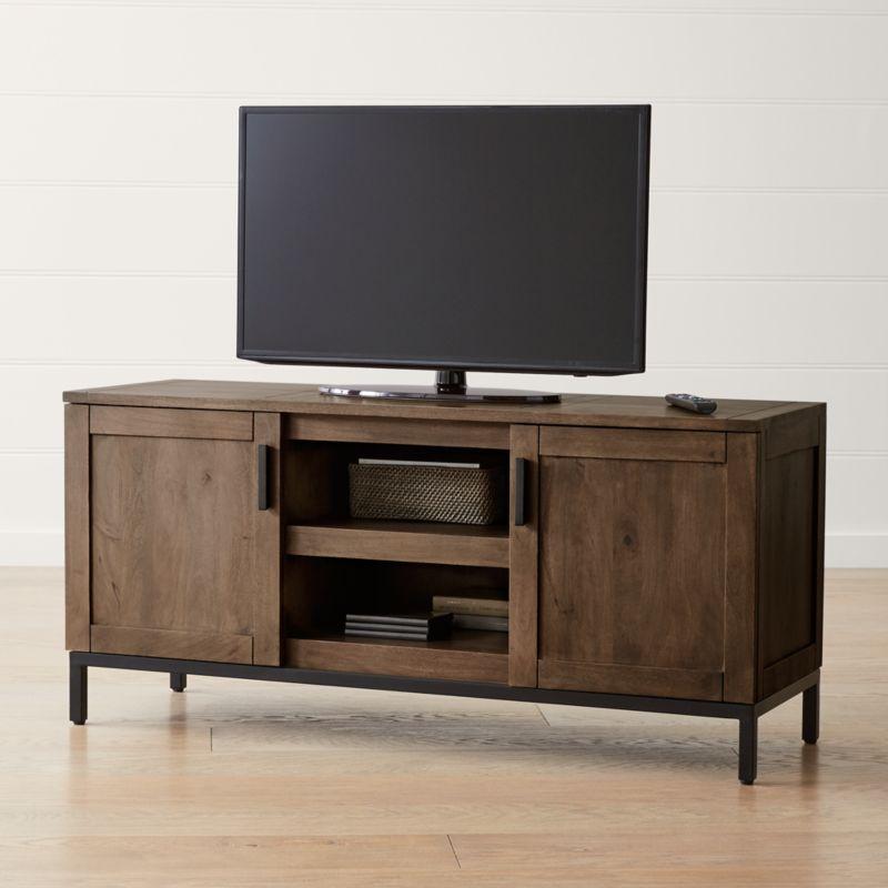 media white distressed cabinet stand wood corner